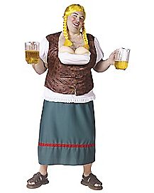 Adult Miss Oktoberfest Plus Size Costume