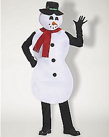 Adult Jolly Snowman Costume