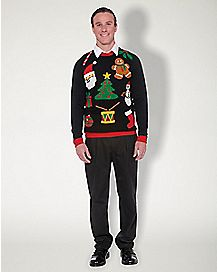 Adult Christmas Icon Sweater