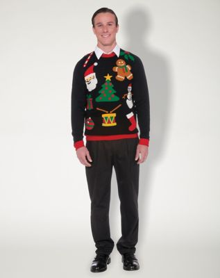 Christmas Icon Adult Sweater