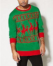 Adult Reindeer Games Sweater