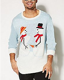 Snow Couple Sweater