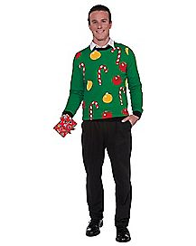 Adult Christmas Ornament Sweater