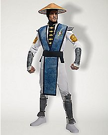 Adult Raiden Costume Deluxe- Mortal Kombat