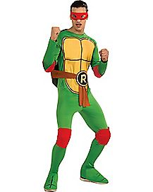 Adult Raphael One Piece Costume - TMNT
