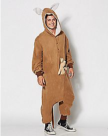 Adult One Piece Kangaroo Costume
