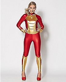 Adult Mark 42 Iron Man Bodysuit Costume - Marvel Comics