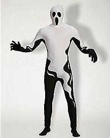 Adult Super Skin® Floating Ghost Skin Suit Costume