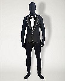 Adult Tuxedo Skin Suit Plus Size Costume