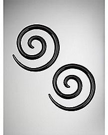 Black Spiral Set