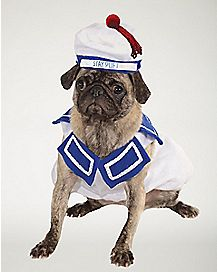 Stay Puft Marshmallow Dog Costume
