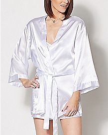 Bride Robe and Slip Set