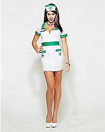 Adult Anita Reefer Nurse Costume