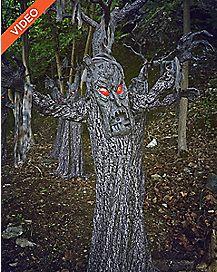7 Ft Haunted Tree Animatronics - Decorations