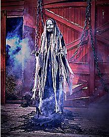 5 Ft Creepy Rising Doll Animatronics - Decorations
