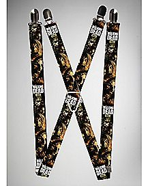 Zombies Stacked The Walking Dead Suspenders