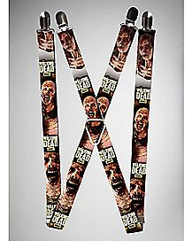 Zombies The Walking Dead Suspenders