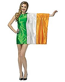 Adult Ireland Flag Dress Costume