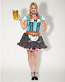 Adult Miss Oktoberfest Plus Size Costume