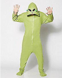 Adult Hooded Alien Costume