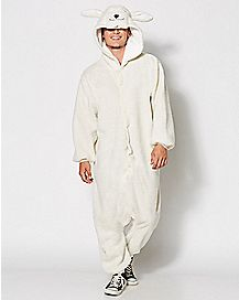 Adult Ollie the Sheep One-Piece Pajamas