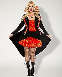 Adult Vampire Countess Plus Size Costume