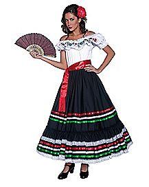 Adult Western Senorita Costume