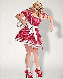 Adult Windup Doll Plus Size Costume