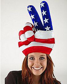 Peace Hand USA Hat