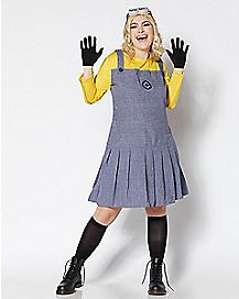 Adult Minion Plus Size Costume - Despicable Me 2