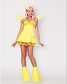 My Little Pony Fluttershy Pony Adult Womens Costume