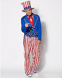 Adult Uncle Sam Costume