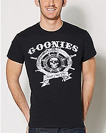 Captain Wheel The Goonies T shirt