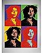 Bob Marley Warhol Wall Tapestry