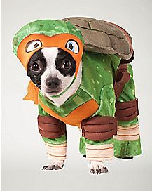 TMNT Michelangelo Dog Costume - Teenage Mutant Ninja Turtles