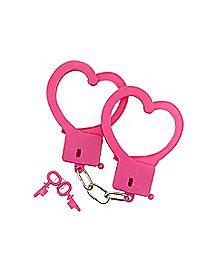Pink Heart Handcuffs