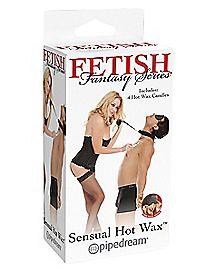 Sensual Hot Wax Set