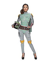 Adult Boba Fett Jumpsuit Costume - Star Wars
