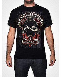 Brantley Gilbert Crossed T shirt