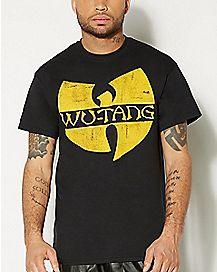 Logo Classic Yellow Wu Tang T shirt
