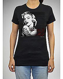 Hottie Marilyn Monroe T shirt