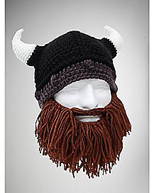Bearded Barbarian Beanie