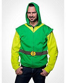 Nintendo Zelda Link Zip Hoodie