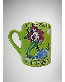 Ariel I'm Really a Mermaid Mug 14 oz