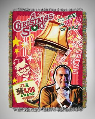 A Christmas Story Throw Blanket