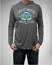 Jaws Great White Shark Tours Hoodie