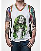 Bob Marley Dread Leaves Mens Jersey Tank