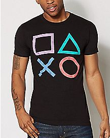 Icons Playstation T shirt