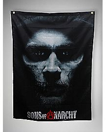 Sons of Anarchy Hell Awaits Wall Banner