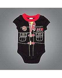Fireman Baby Bodysuit